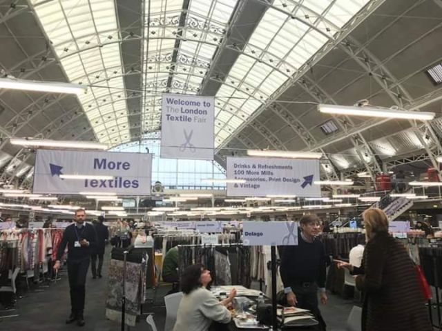 Azuriberica marca presença na London Textile Fair